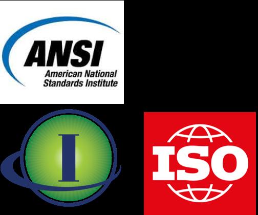 ANSI ISO IAOIP Combined Logo